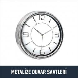 Metalize Duvar Saatleri
