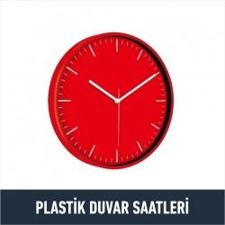Plastik Duvar Saatleri